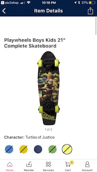 "Kids 21"" skateboard  Simpsonville, 29681"