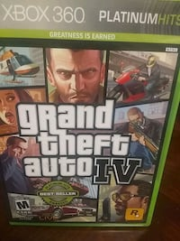 Console game Grand theft Auto  number 4