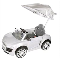 Audi R8 spyder push car with canopy  Surrey, V3S 7C8