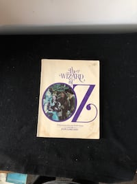 Wizard of Oz with pictures from MGM classic