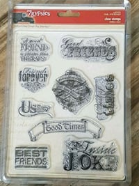 7 gypsies forever friends good times acrylic stamp Airdrie, T4B 0Y3