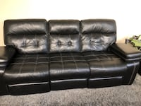 black leather tufted sectional sofa Columbia, 29229