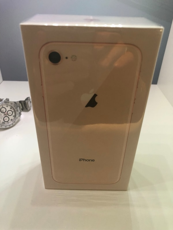 iPhone 8 64gb Gold Factory Unlocked Brand new sealed