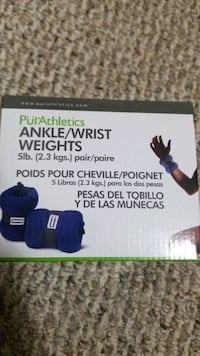 ankle/wrist weights 5lbs