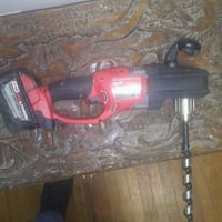 black and red cordless power drill Surrey, V3X 1E6