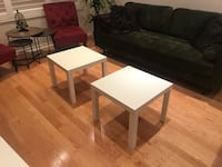 White side table Oakville, L6M 4Y1