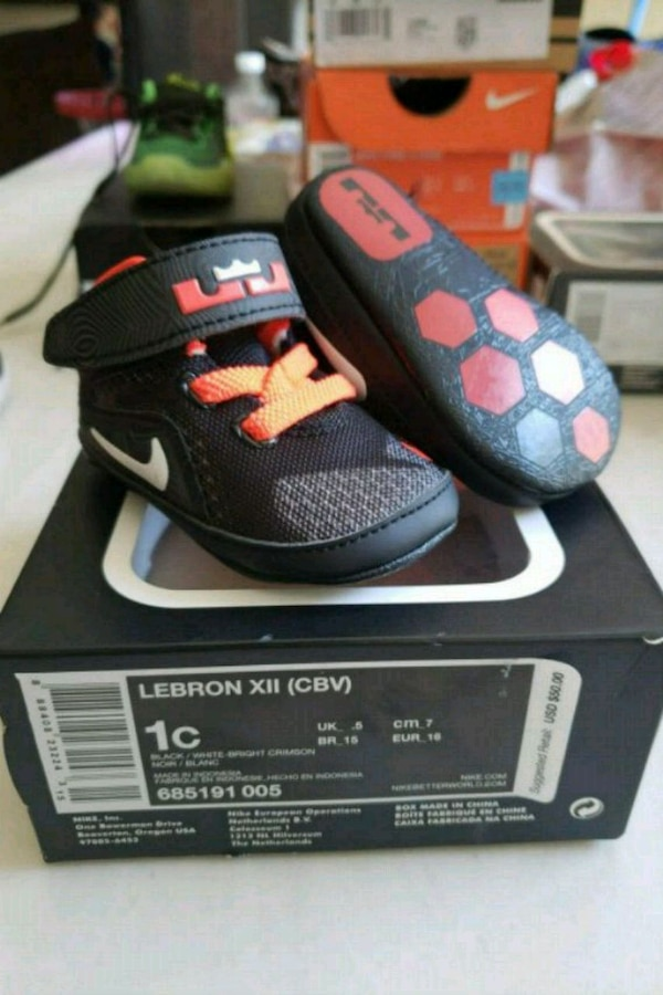 outlet store 6e86e 8bf3c Used Lebron baby shoes size 1c  25 new for sale in Laredo - letgo