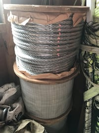"""3/8"""" galvanized rope 250ft $100 for each 3 available Miller Place, 11764"""