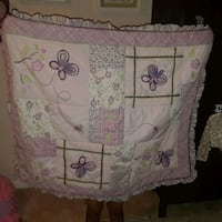 baby's white and pink floral bassinet Germantown, 20874