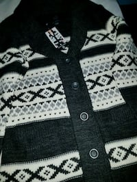 black and white button-up jacket Winnipeg, R2L 1P8
