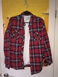 Plaid button up Port Coquitlam, V3B 3S9