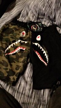 Bape shorts an Bape Face mask 100% authentic  Guelph, N1H