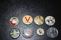 Buttons & Pins - Vintage & Misc Châteauguay