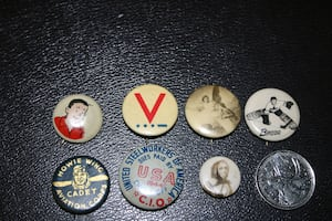 Buttons & Pins - Vintage & Misc
