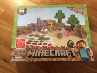 Minecraft deluxe papercraft set (barely used) and card game