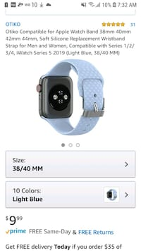 compatible apple watch band new.  Miami, 33130