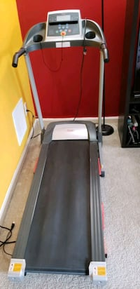 black and gray automatic treadmill Woodbridge, 22193