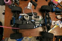 Rc nitro and electric cars-trucks and parts Coquitlam, V3J 2L3