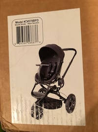 Black and gray stroller with tray North Potomac, 20878