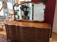 "Mazor ""MASTERPIECE"" dresser, won't last! Used for about 2years and need the extra space. 71 inches length and 20.5 inches w. 32 inches from the ground without the mirror. Bowie, 20715"