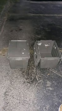 Bins that has lids on them great for storage Nashville, 37211