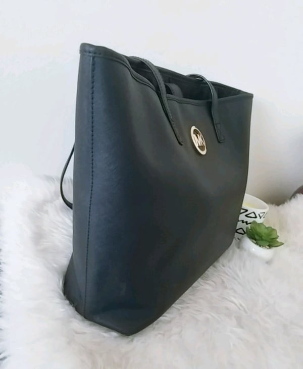 Michael Kors purse mk saffiano tote bag  4