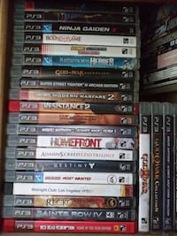 PS3 Console + Dozens of games Millville, 01529