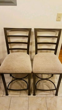 Two bar stools in perfect condition, rarely used Arlington, 22203