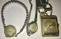 3 Vintage watches Linden, 48451