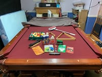 Billiard Table with accessories