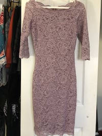 Le Chateau - Muave Lace Dress