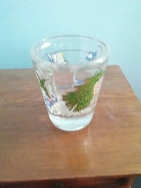 Lake tahoe shot glass