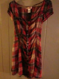 red and black plaid button-up shirt Loveland, 80537