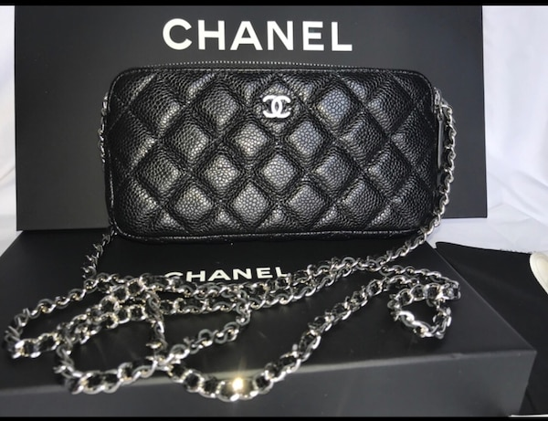 Used Authentic 2018 Chanel Clutch with Chain for sale in New York ... 35f041d75f3ba