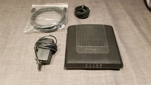 Thomson internet router DCM476.