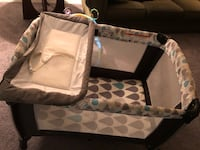 3 in 1 Crib, playpen, changing table Norcross, 30093