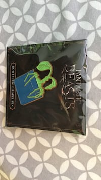 Fantastic Beasts and Where to Find Them Bowtruckle Lapel Pin Central Okanagan