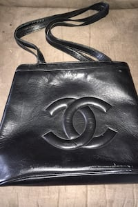 Channel leather purse