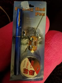fishing reel and rod pens