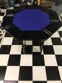black and purple wooden table Houston, 77002