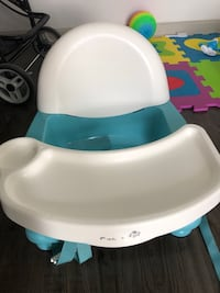 baby's white and blue highchair Orlando, 32821