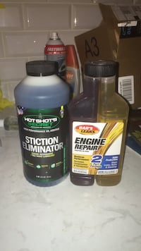 engine repair oil addite and sticktion elimiation. works good. both for 10 Rockville, 20850