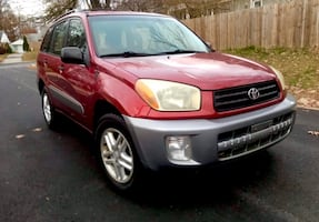 Engine Transmission Strong ' 2002 Rav 4 Suv