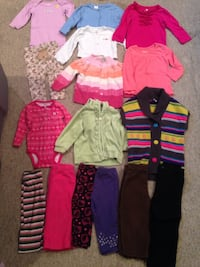 12,18,24 Month Winter Clothes Lincoln, 68507