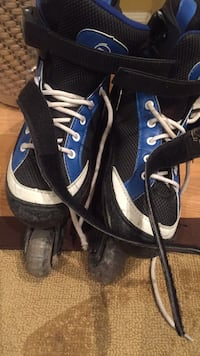 Roller blades- gently used. Adjustable sizes 1-4 Vaughan, L6A 2X9