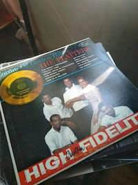 The Platters & Collection of Records