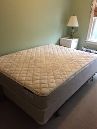 Sleepy's queen mattress and bed frame  Canton, 02021