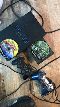 PS2 With Games And Controllers Albuquerque, 87120