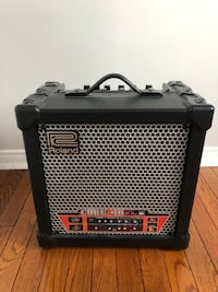 black and gray guitar amplifier Richmond Hill
