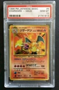 Pokemon Japanese  Charizard PSA 10 Norfolk, 23503